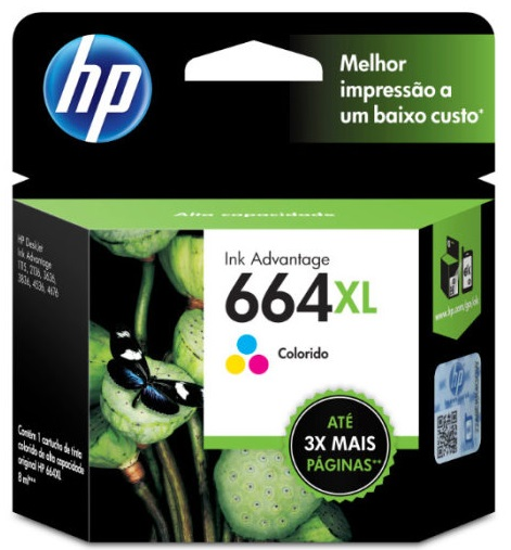 TINTA HP #664XL C